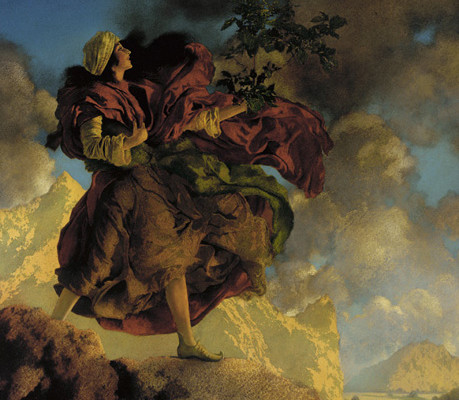 Maxfield Parrish Public domain Image, via Wikimedia Commons