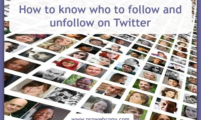Know who to follow on Twitter and when to unfollow by using Managefllitter