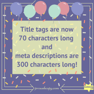 How to optimize your new title tag and meta description length - 2018 update