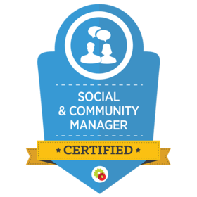 Michelle Stephens is a Certified Social & Community Specialist - Digital Marketer